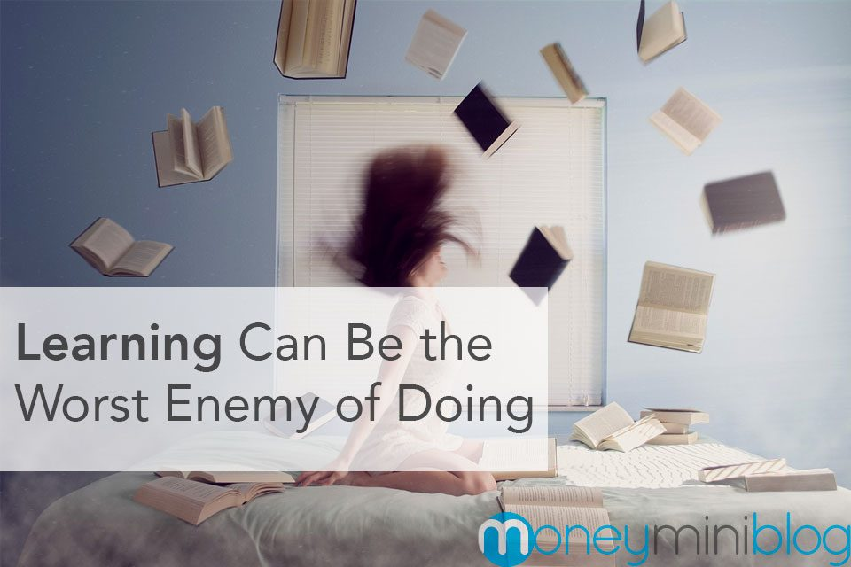 Learning Can Be the Worst Enemy of Doing