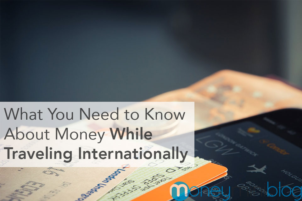 internationally spending money