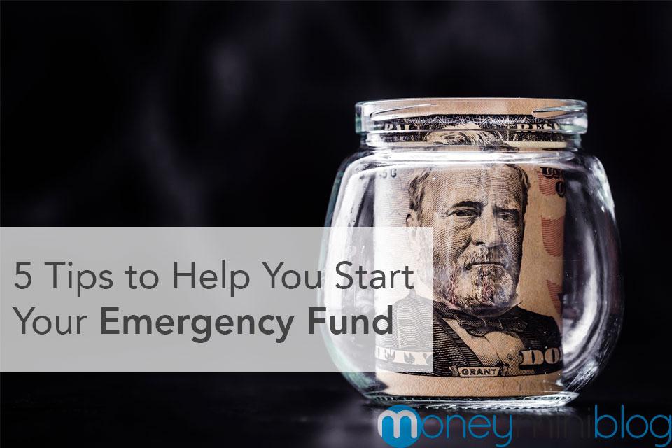 emergency fund start