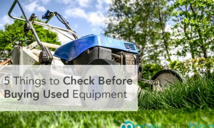 5 Things to Check Before Buying Used Equipment