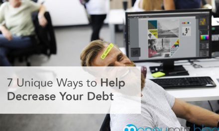 7 Unique Ways to Help Decrease Your Debt
