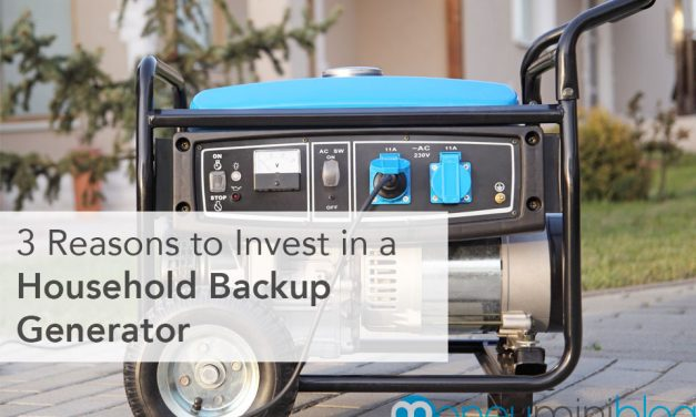 3 Reasons to Invest in a Household Backup Generator