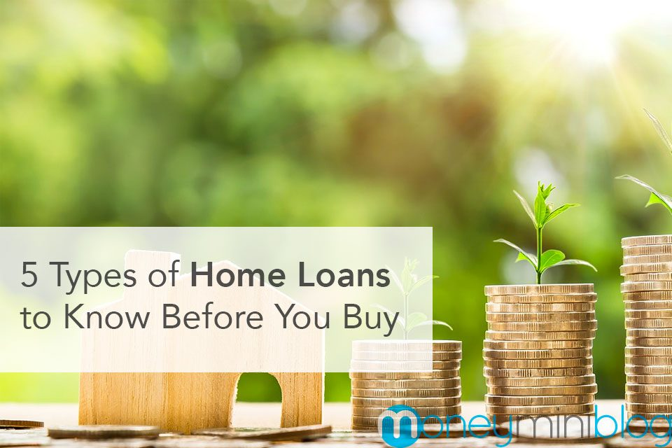 5 Types of Home Loans to Know Before You Buy