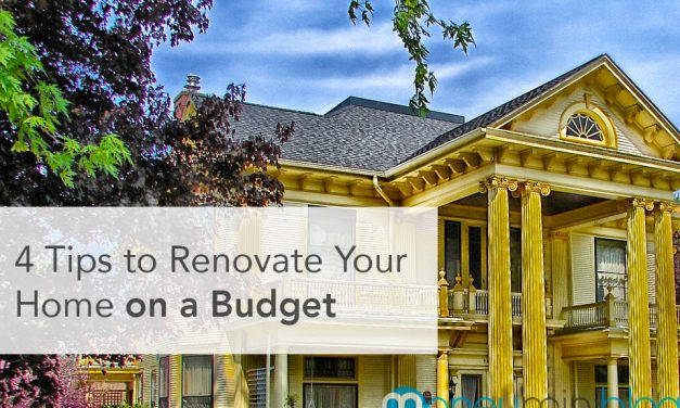 4 Tips to Renovate Your Home on a Budget