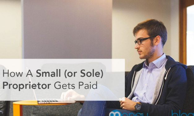 How A Small (or Sole) Proprietor Gets Paid