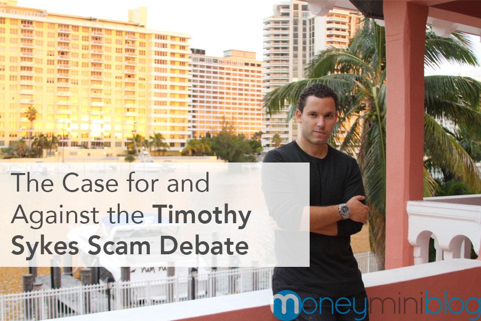 timothy sykes debate scam or not