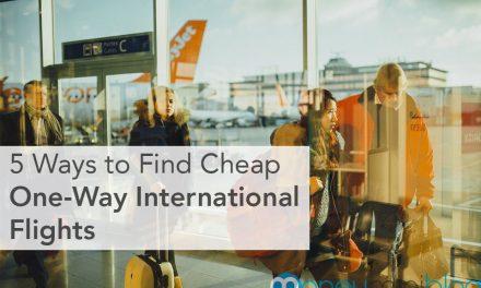 5 Ways to Find Cheap One-Way International Flights