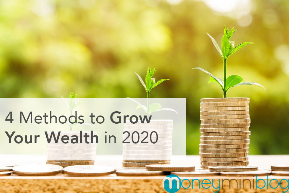 4 Methods to Grow Your Wealth in 2020