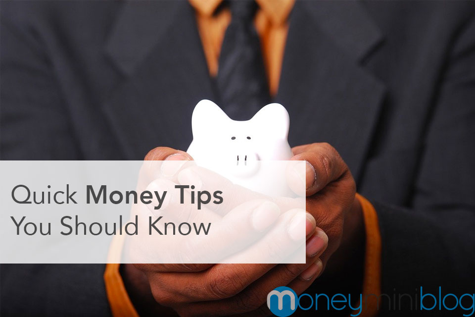 Quick Money-Management Tips You Should Know