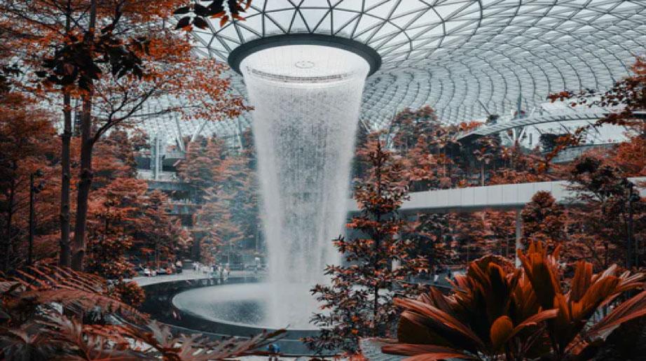 plastic fountain