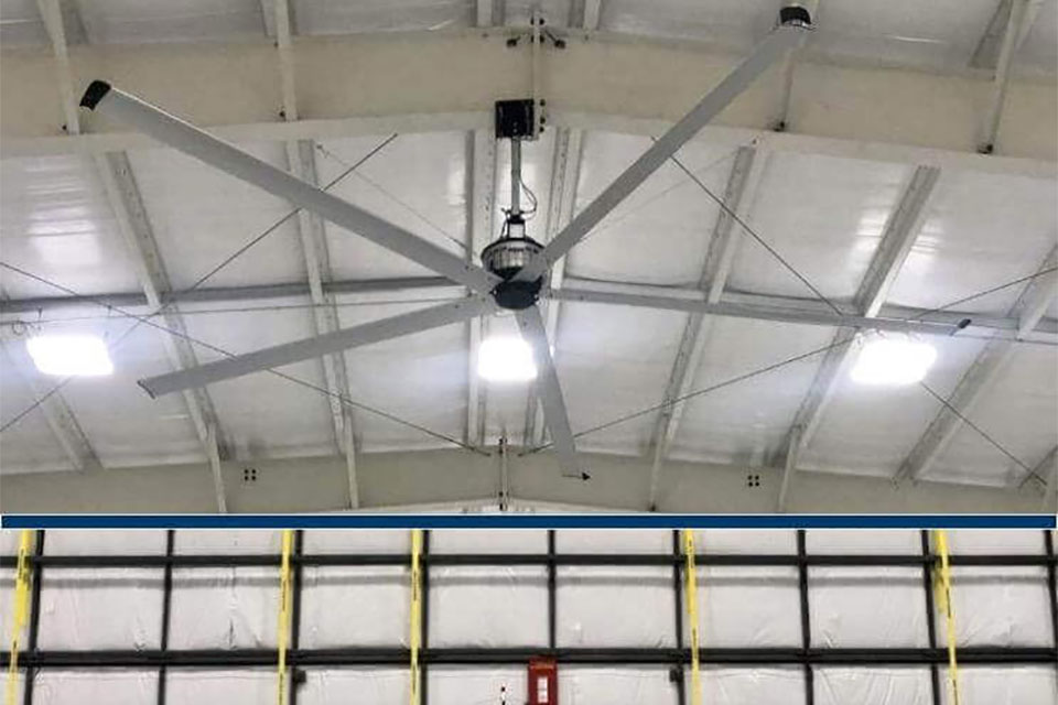 It's Possible to Select Large and Efficient Industrial Fans